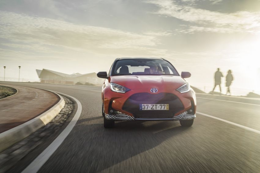 2020 Toyota Yaris Hybrid – 1.5L three-cylinder Dynamic Force engine, improved fuel efficiency and emissions Image #1079581