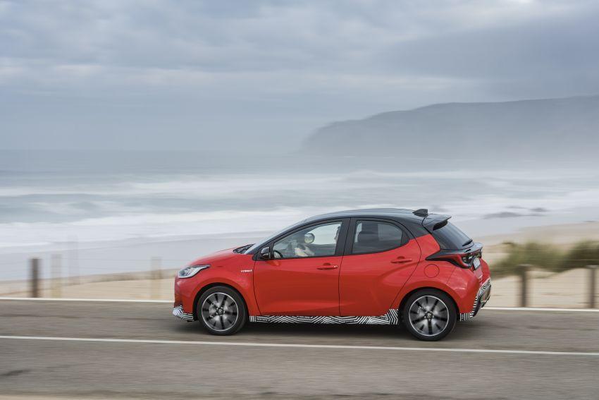 2020 Toyota Yaris Hybrid – 1.5L three-cylinder Dynamic Force engine, improved fuel efficiency and emissions Image #1079628