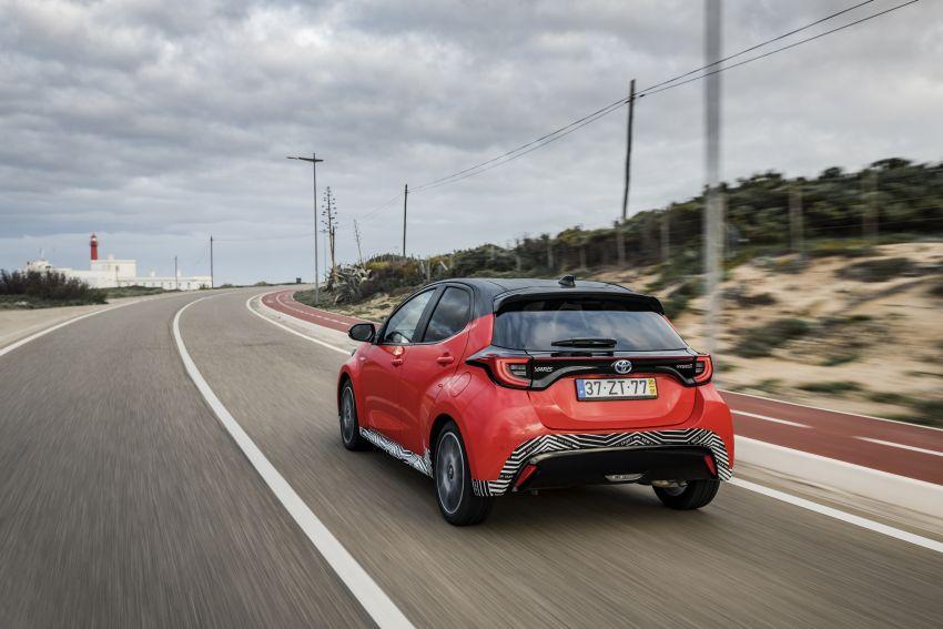 2020 Toyota Yaris Hybrid – 1.5L three-cylinder Dynamic Force engine, improved fuel efficiency and emissions Image #1079626