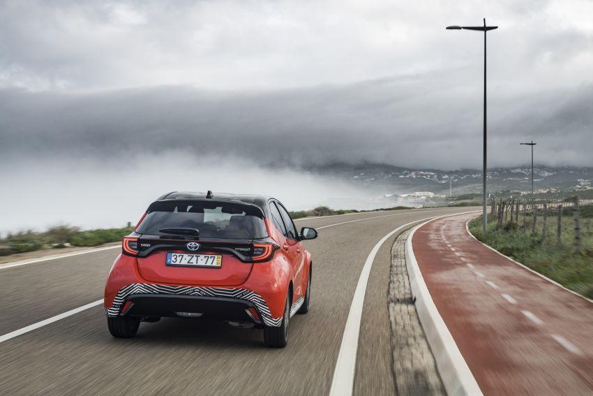 2020 Toyota Yaris Hybrid – 1.5L three-cylinder Dynamic Force engine, improved fuel efficiency and emissions Image #1079635