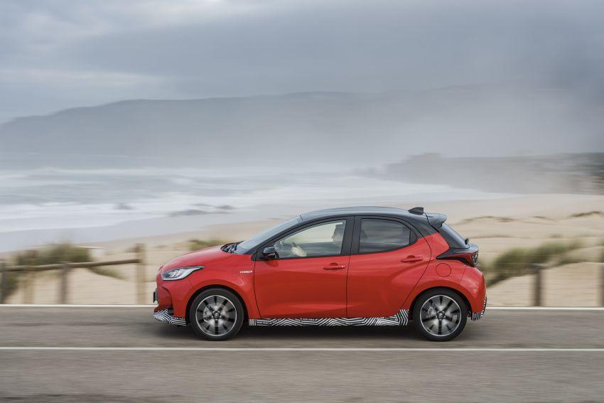 2020 Toyota Yaris Hybrid – 1.5L three-cylinder Dynamic Force engine, improved fuel efficiency and emissions Image #1079653