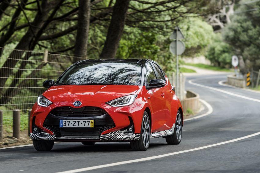 2020 Toyota Yaris Hybrid – 1.5L three-cylinder Dynamic Force engine, improved fuel efficiency and emissions Image #1079663