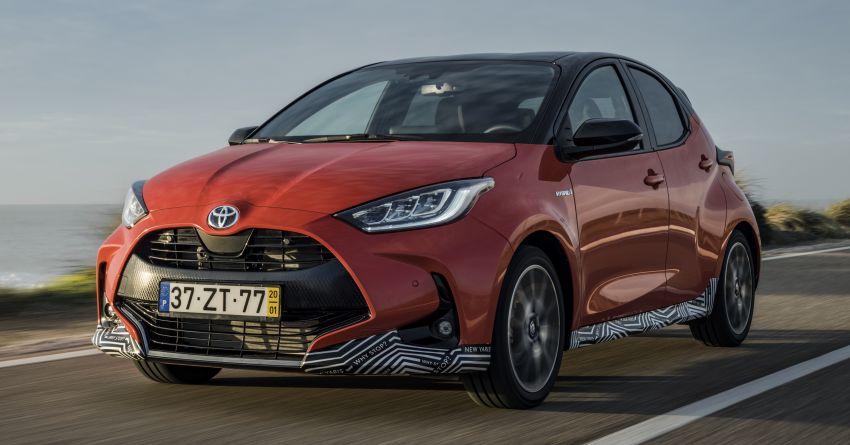 2020 Toyota Yaris Hybrid – 1.5L three-cylinder Dynamic Force engine, improved fuel efficiency and emissions Image #1079684