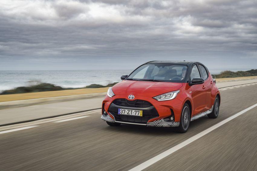 2020 Toyota Yaris Hybrid – 1.5L three-cylinder Dynamic Force engine, improved fuel efficiency and emissions Image #1079693