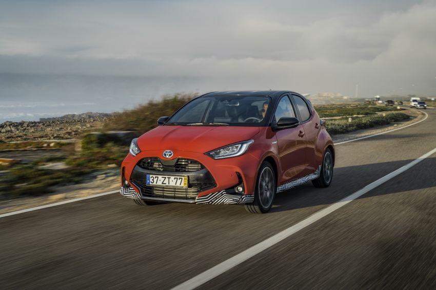 2020 Toyota Yaris Hybrid – 1.5L three-cylinder Dynamic Force engine, improved fuel efficiency and emissions Image #1079589