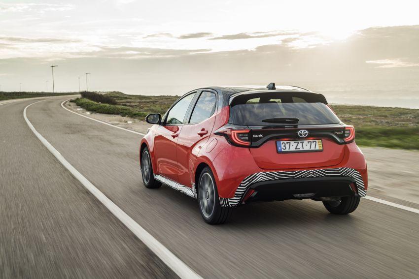 2020 Toyota Yaris Hybrid – 1.5L three-cylinder Dynamic Force engine, improved fuel efficiency and emissions Image #1079596