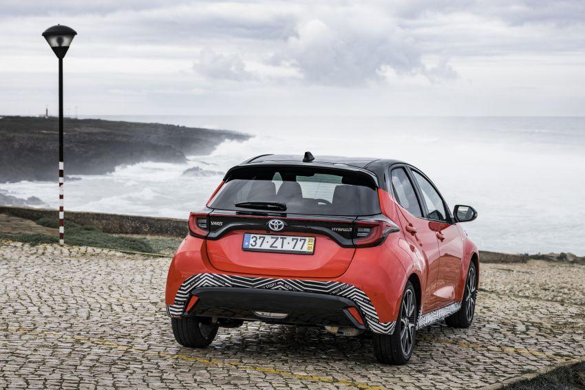 2020 Toyota Yaris Hybrid – 1.5L three-cylinder Dynamic Force engine, improved fuel efficiency and emissions Image #1079703