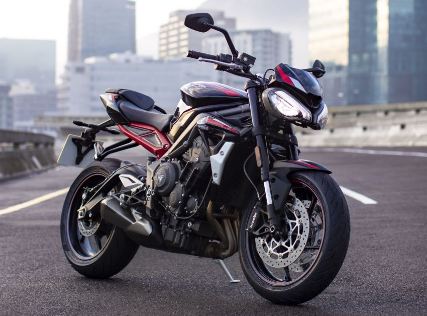 2020 Triumph Street Triple 765R launched in UK Image #1080474