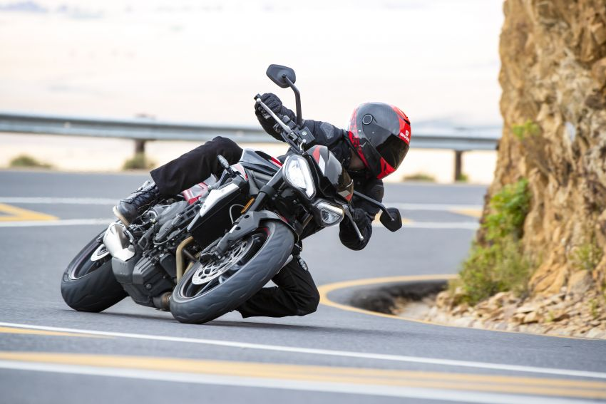 2020 Triumph Street Triple 765R launched in UK Image #1080482