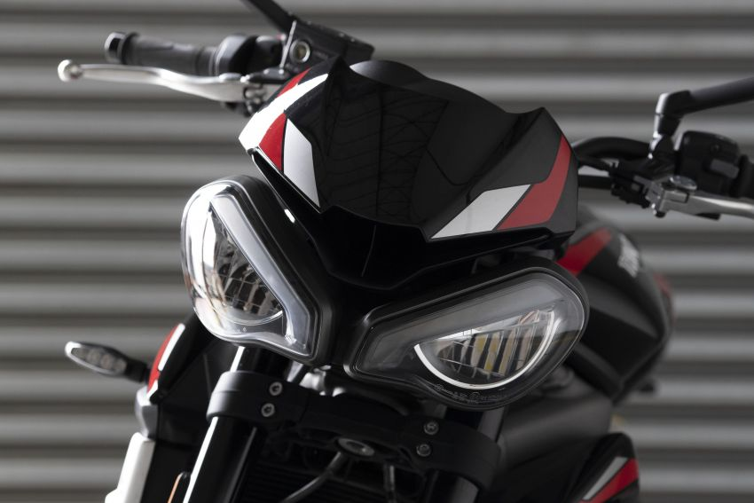 2020 Triumph Street Triple 765R launched in UK Image #1080484