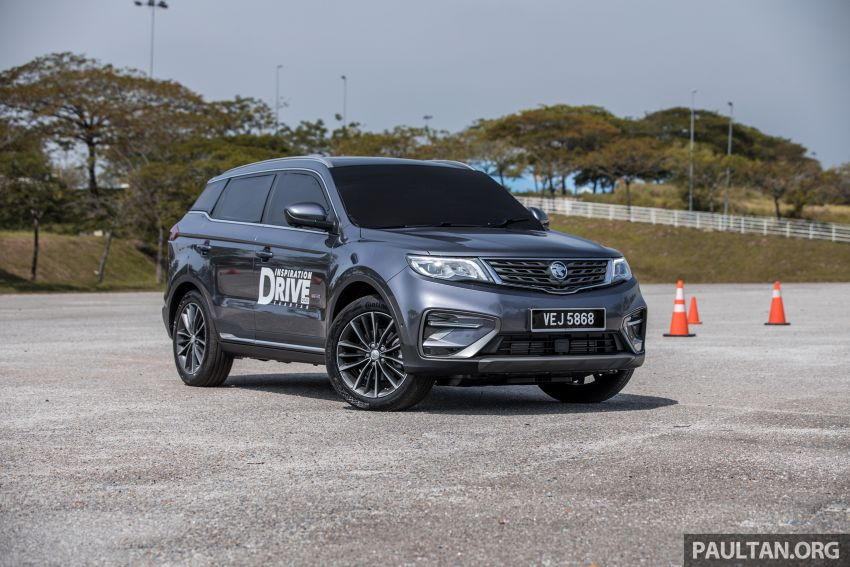 DRIVEN: 2020 Proton X70 CKD with 7DCT full review Image #1079706