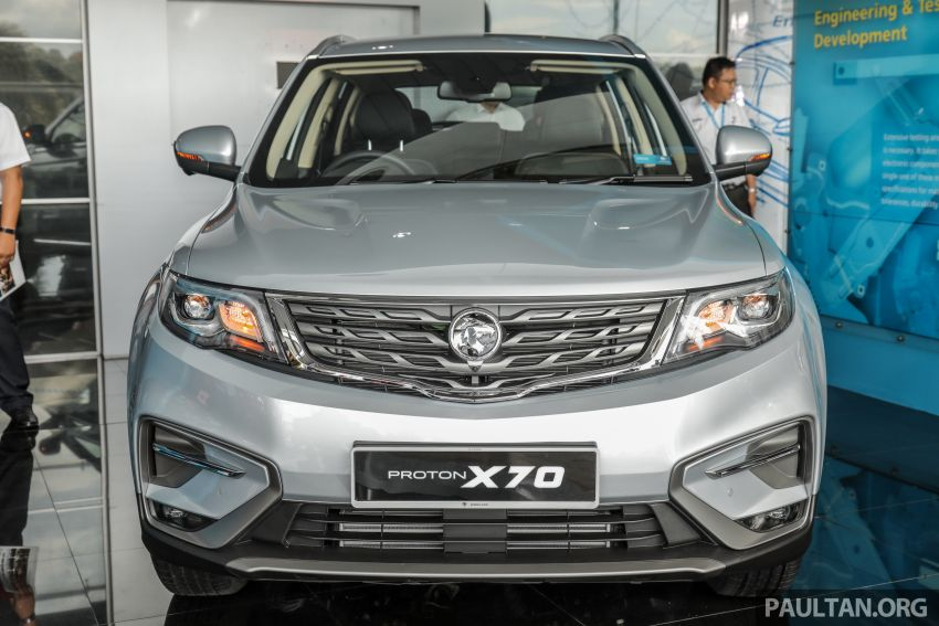 2020 Proton X70 CKD launched: Volvo 7DCT, +15 Nm, 13% better economy, more features, RM95k to RM123k Image #1081151