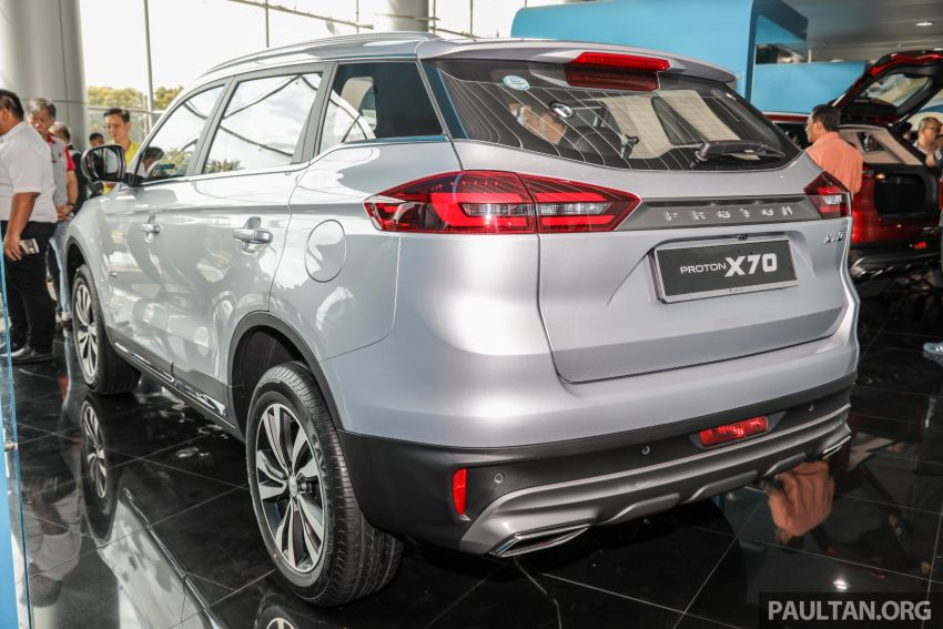 2020 Proton X70 CKD launched: Volvo 7DCT, +15 Nm, 13% better economy, more features, RM95k to RM123k Image #1081156