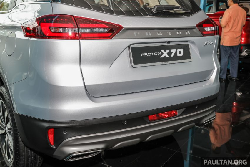 2020 Proton X70 CKD launched: Volvo 7DCT, +15 Nm, 13% better economy, more features, RM95k to RM123k Image #1081157