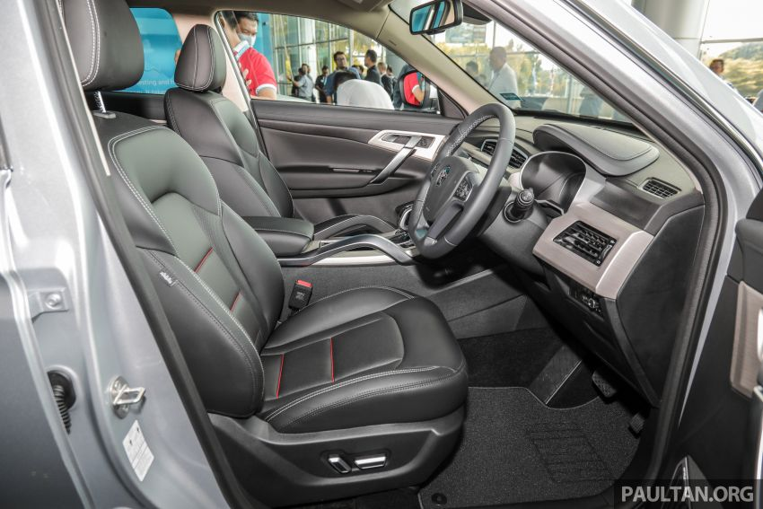 2020 Proton X70 CKD launched: Volvo 7DCT, +15 Nm, 13% better economy, more features, RM95k to RM123k Image #1081172