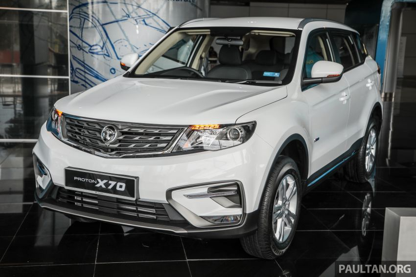 2020 Proton X70 CKD launched: Volvo 7DCT, +15 Nm, 13% better economy, more features, RM95k to RM123k Image #1081179
