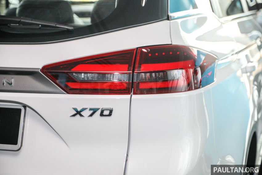 2020 Proton X70 CKD launched: Volvo 7DCT, +15 Nm, 13% better economy, more features, RM95k to RM123k Image #1081194
