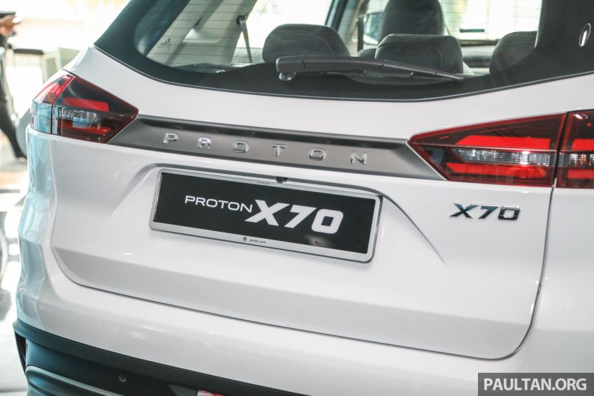2020 Proton X70 CKD launched: Volvo 7DCT, +15 Nm, 13% better economy, more features, RM95k to RM123k Image #1081195