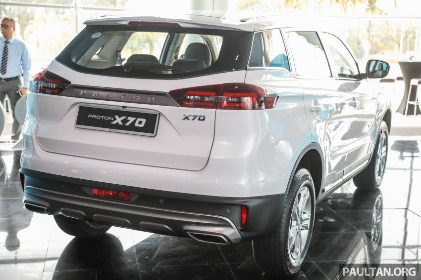 2020 Proton X70 CKD launched: Volvo 7DCT, +15 Nm, 13% better economy, more features, RM95k to RM123k Image #1081180