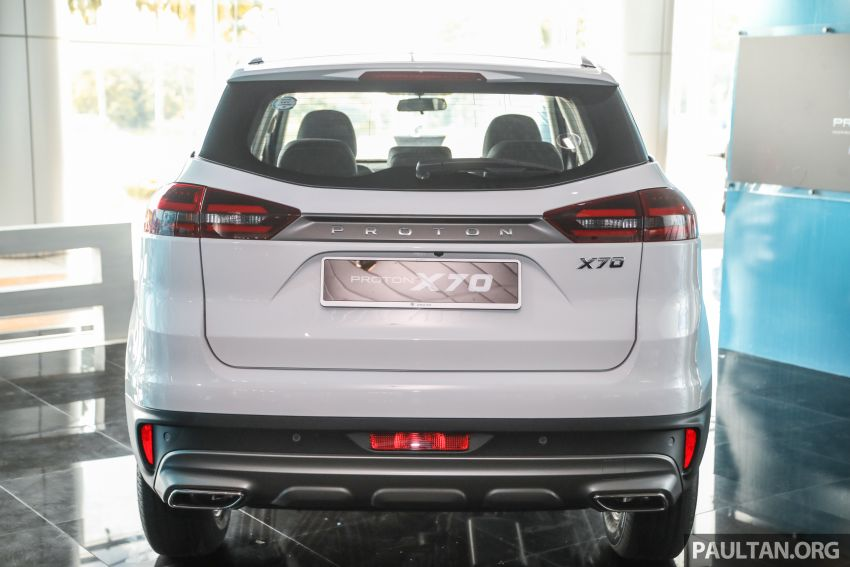 2020 Proton X70 CKD launched: Volvo 7DCT, +15 Nm, 13% better economy, more features, RM95k to RM123k Image #1081182