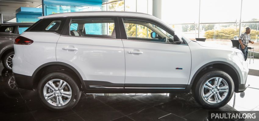 2020 Proton X70 CKD launched: Volvo 7DCT, +15 Nm, 13% better economy, more features, RM95k to RM123k Image #1081183