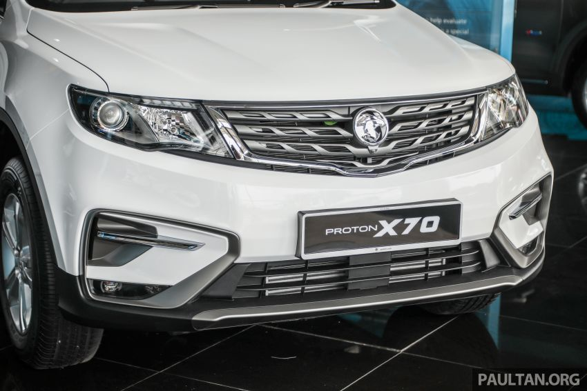 2020 Proton X70 CKD launched: Volvo 7DCT, +15 Nm, 13% better economy, more features, RM95k to RM123k Image #1081184