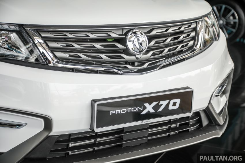 2020 Proton X70 CKD launched: Volvo 7DCT, +15 Nm, 13% better economy, more features, RM95k to RM123k Image #1081187