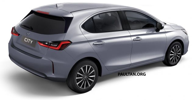 2021 honda city hatchback rendered – would you prefer this