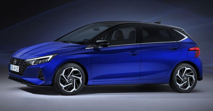 2021 Hyundai i20 officially revealed – 1.0T mild hybrid Image #1084048