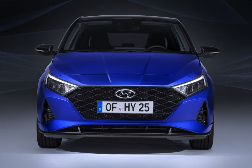 2021 Hyundai i20 officially revealed – 1.0T mild hybrid Image #1084050