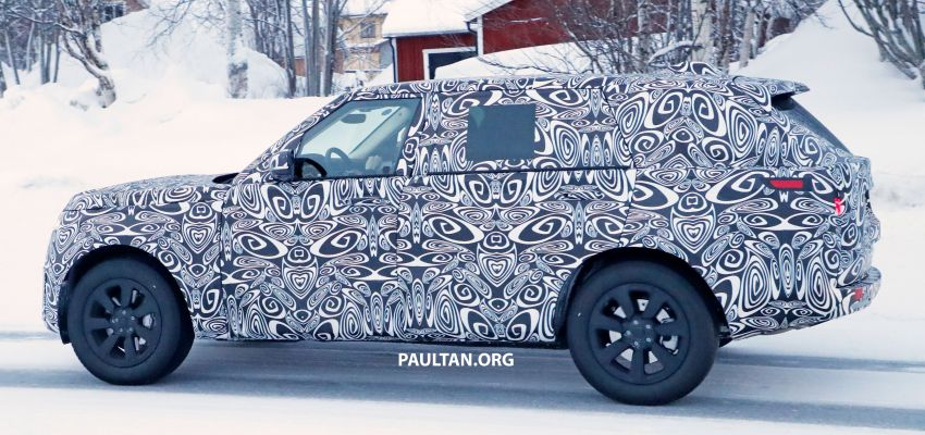 SPYSHOTS: 2021 Range Rover – fifth-gen seen testing Image #1088984