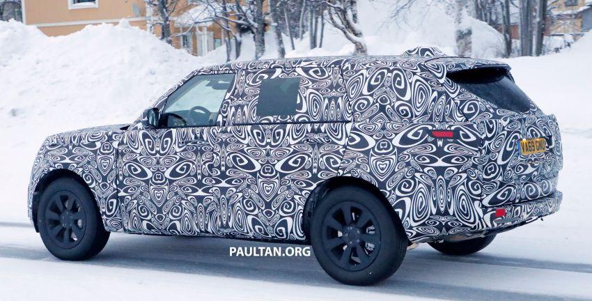 SPYSHOTS: 2021 Range Rover – fifth-gen seen testing Image #1088983
