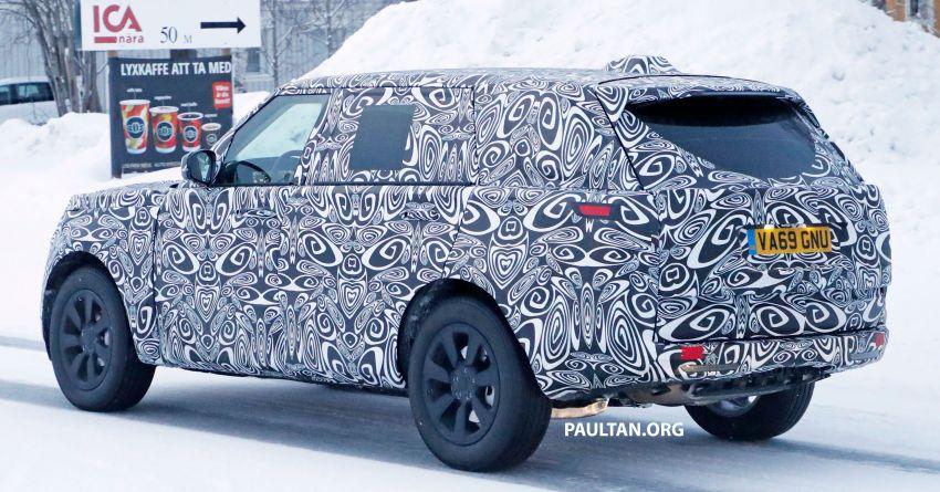 SPYSHOTS: 2021 Range Rover – fifth-gen seen testing Image #1088981