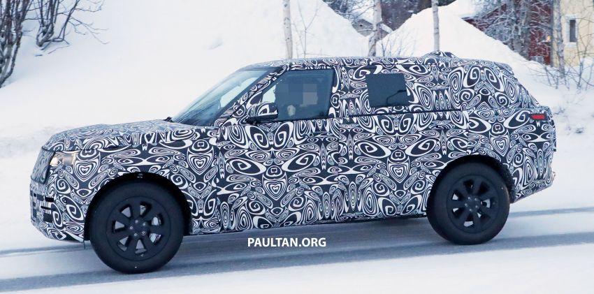 SPYSHOTS: 2021 Range Rover – fifth-gen seen testing Image #1088987