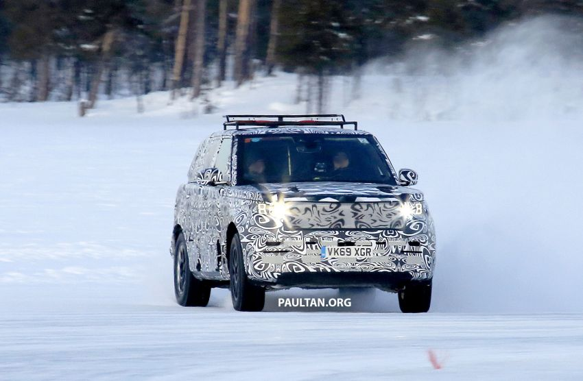 SPIED: 2021 Range Rover Sport cold-weather testing Image #1083479