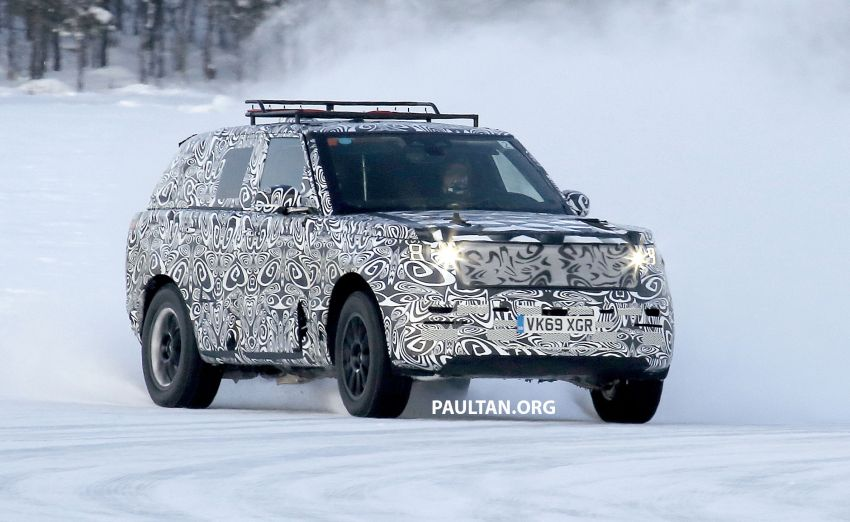 SPIED: 2021 Range Rover Sport cold-weather testing Image #1083480