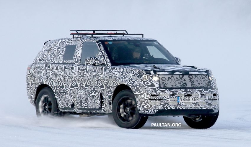 SPIED: 2021 Range Rover Sport cold-weather testing Image #1083481