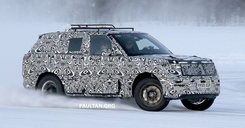SPIED: 2021 Range Rover Sport cold-weather testing Image #1083482
