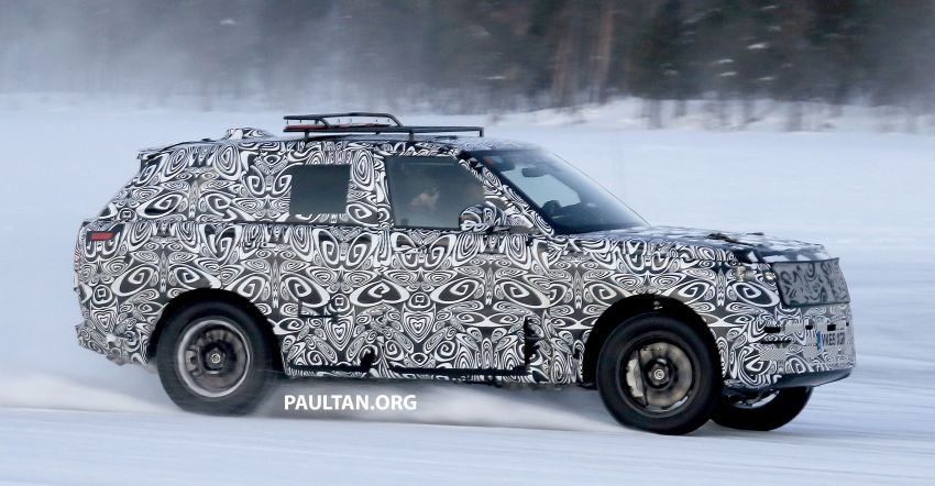 SPIED: 2021 Range Rover Sport cold-weather testing Image #1083484
