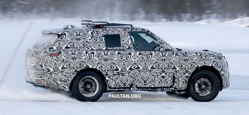 SPIED: 2021 Range Rover Sport cold-weather testing Image #1083485