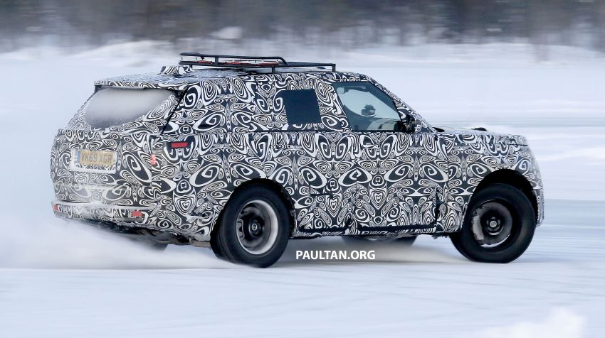 SPIED: 2021 Range Rover Sport cold-weather testing Image #1083486