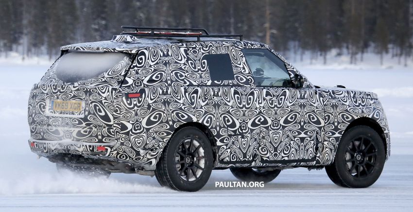 SPIED: 2021 Range Rover Sport cold-weather testing Image #1083487