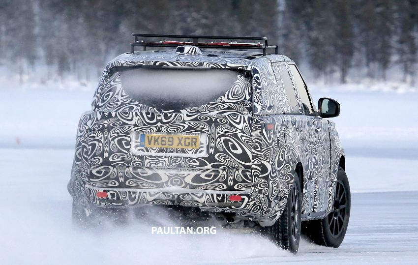 SPIED: 2021 Range Rover Sport cold-weather testing Image #1083490