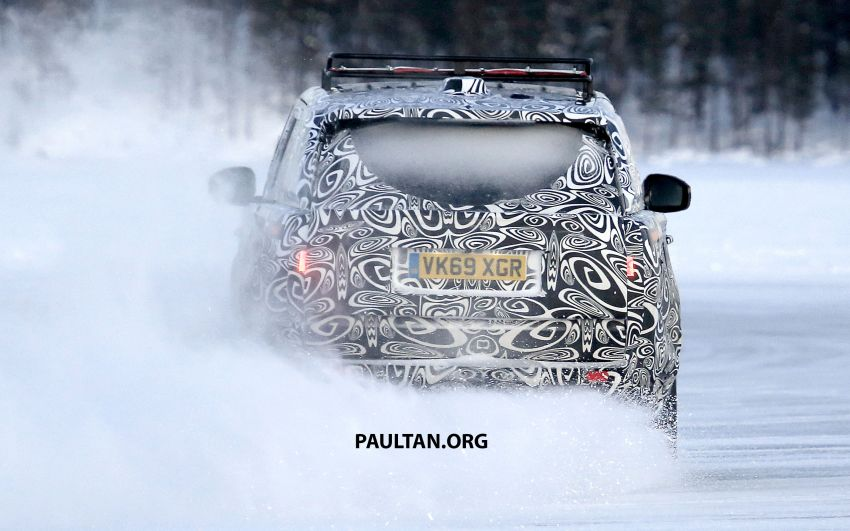 SPIED: 2021 Range Rover Sport cold-weather testing Image #1083491