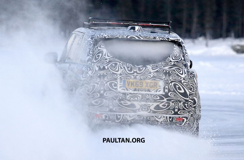 SPIED: 2021 Range Rover Sport cold-weather testing Image #1083492