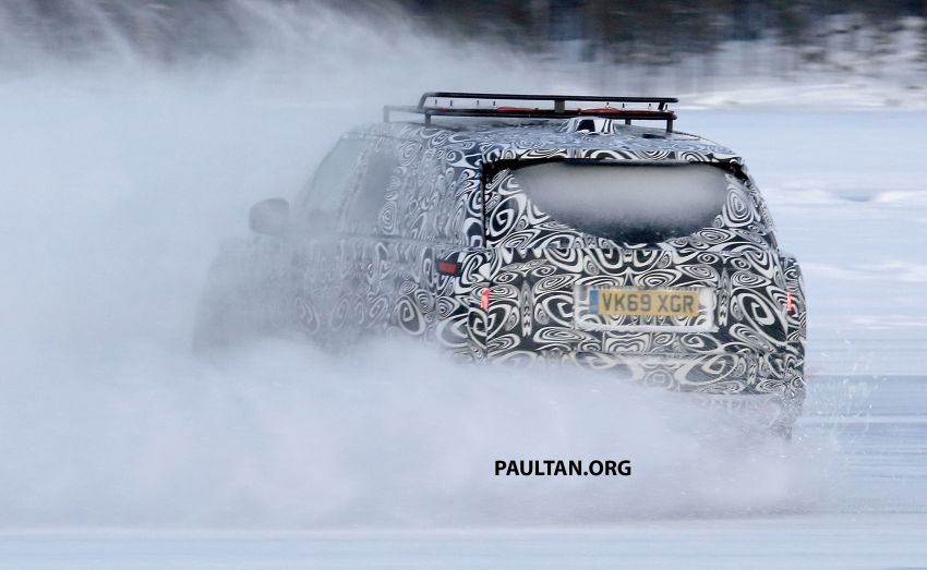 SPIED: 2021 Range Rover Sport cold-weather testing Image #1083493