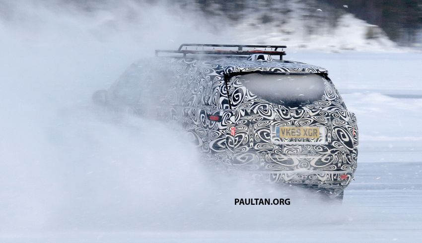 SPIED: 2021 Range Rover Sport cold-weather testing Image #1083494