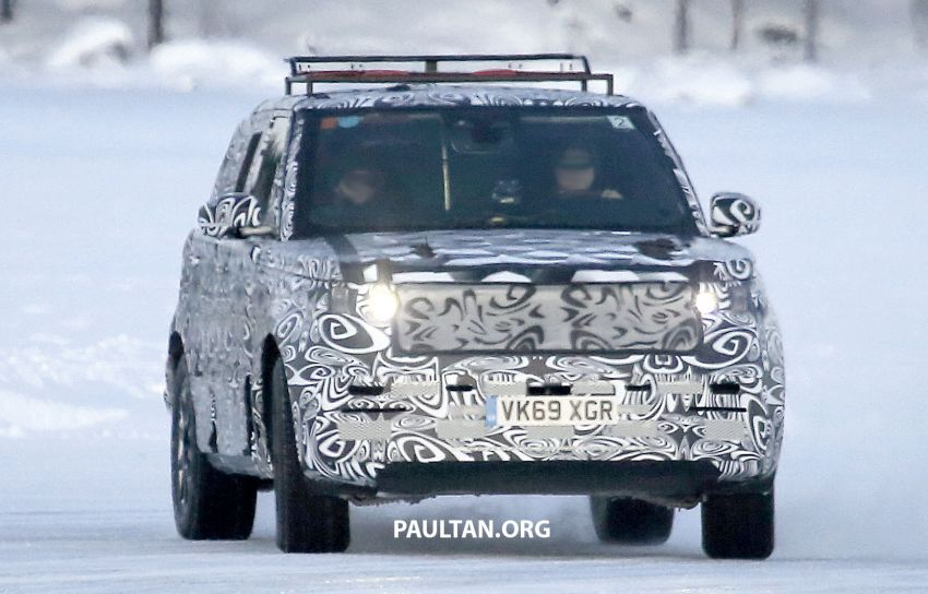 SPIED: 2021 Range Rover Sport cold-weather testing Image #1083495