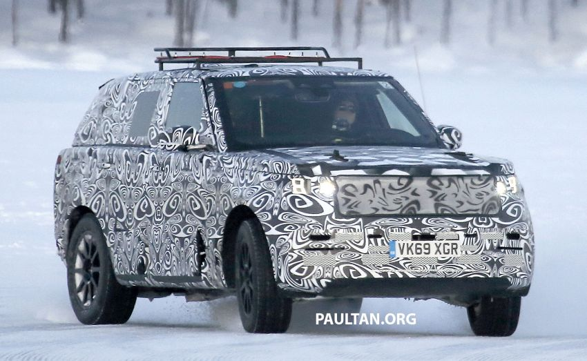 SPIED: 2021 Range Rover Sport cold-weather testing Image #1083496