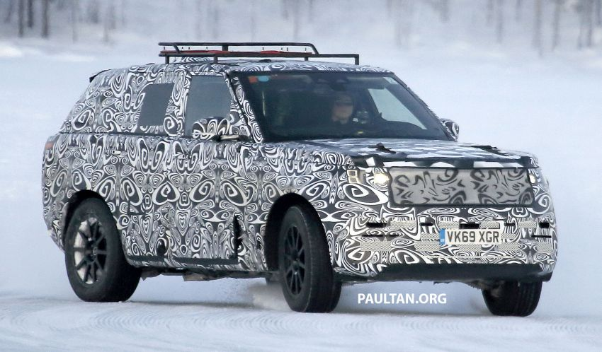 SPIED: 2021 Range Rover Sport cold-weather testing Image #1083497